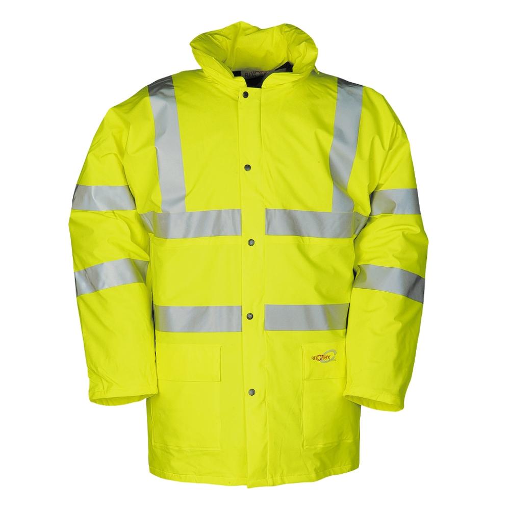 Tacana Flexothane Winter Rain Coat Yellow Tiger Supplies