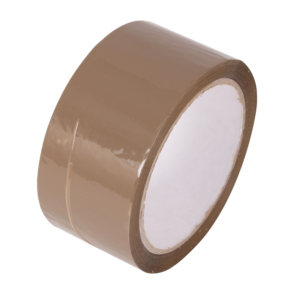 packaging tape brown 50mm x 66m tiger supplies