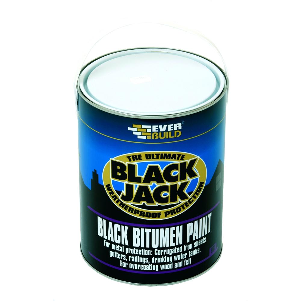 Black Bitumen Paint 5 Litre Tiger Supplies