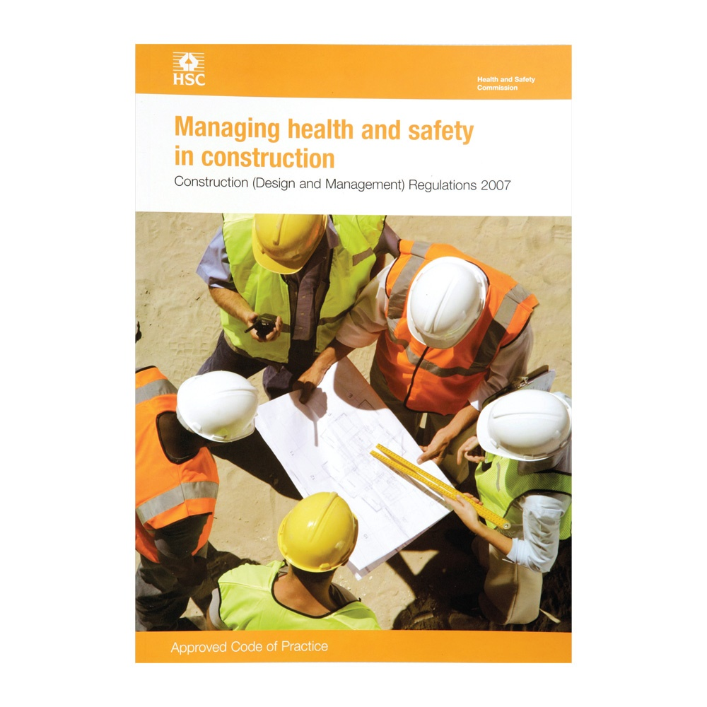HSE Managing Health & Safety in Construction Book (L144 ... Health And Safety Construction